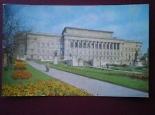 POSTCARD LANCASHIRE LIVERPOOL - ST GEORGES HALL FROM ST JOHNS GARDENS