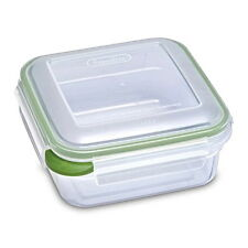 STERILITE ULTRA LATCH 5.2 CUPS SQUARE CONTAINER - 100% BPA FREE - Made in USA