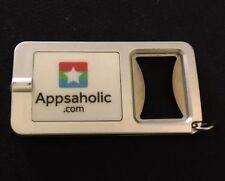 Appsaholic.Com - Combination Keychain / Flashlight / Bottle Opener - Trade Show
