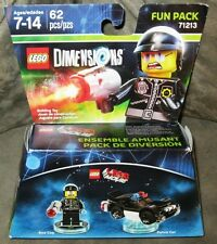 Brand New Lego Dimensions Fun Pack Bad Cop with Police Car 62 PCS 71213