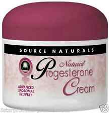 NEW SOURCE NATURALS NATURAL PROGESTERONE CREAM PARABEN FREE WOMEN'S HEALTH 4 oz