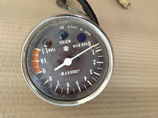 SUZUKI GT GP GS X5 X7 TACHOMETER REV COUNTER