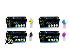 5 Toner CC530A CC531A CC532A CC533A pour HP Color Laserjet CP 2025 N