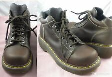 Dr Doc Martens 8542 Brown Leather Ankle Hiking Lace up Boots UK 7 US 9 Worn 1X!