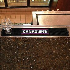 "Montreal Canadiens 3.25"" x 24"" Bar Drink Mat - Man Cave, Bar, Game Room"