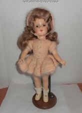 "VINTAGE ORIGINAL MARY HOYER 14"" HARD PLASTIC DOLL NICE CONDITION"