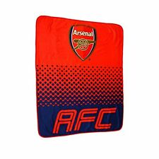Arsenal FC Fade Fleece Blanket - New Design