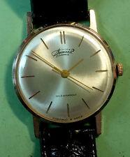 Vympel / Vimpel / Poljot / Luch solid 14k 583 gold Soviet Russian watch 60s USSR