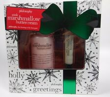 Philosophy Pink Marshmallow Buttercream 2 pc Holiday Gift Set