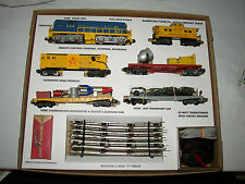 AMERICAN FLYER 20525 DEFENDER SET BOX AND NSERTS ONLY  -NO TRAINS OR CARS