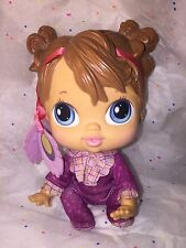 Rare Baby Alive Crib Life Doll Makayla Song 2010 RETIRED Hasbro Footy Pajamas