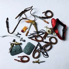 26 Lot Indiana Jones Trooper Action Figure Toys Accessories Weapon Collection