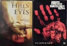 Lot of 2 DVD House on Haunted Hill The Hills Have Eyes