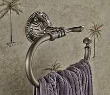 Free Shipping Bathroom Antique Brass Towel Ring Wall Mounted Towel Rack Rail new