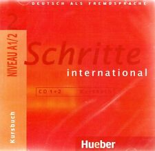 Hueber SCHRITTE INTERNATIONAL 2 CD's zum Kursbuch Niveau A1/2 @NEW & SEALED@