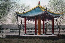 Chinesische Malerei Weberei Bild chinese picture Pagoden Bild feinste Handarbeit