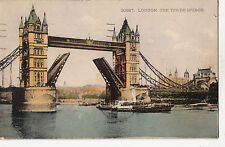 BF16810 london the tower bridge united kingdom front/back image