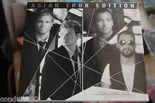 BACK STREET BOYS ASIAN TOUR EDITION HONG KONG SONY CD NEW SLEAED WITH DVD NKOB