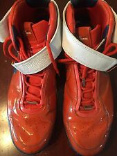 "Nike Air Force men's basketball shoe size 16 orange ""Be true to your school"" Goo"