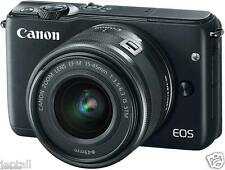 "#Cod Paypal Canon EOS M10 15-45mm 18mp 3"" Mirrorless Camera Brand New Jeptall"