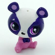 Pink Purple Panda Hasbro Cute LPS Littlest Pet Shop Figure Xmas Toy Animals BAN