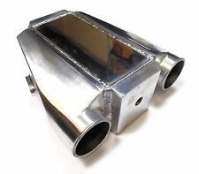 Universal Polished Air / Water Liquid intercooler Use on Kit Project Track Car