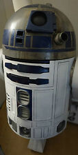 Star wars R2d2 Life Size 1-1 scale star wars movie prop painted.