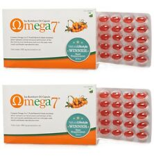 2x Pharma Nord Omega 7 Sea Buckthorn Oil 150 Capsules (Dry Eyes, Dry Mouth)