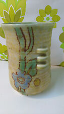 Small Vintage Crown Devon Vase Art Deco/Nouveau (36)