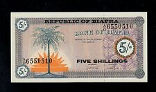BIAFRA  5 SHILLINGS ( 1967 )  PICK # 1 UNC-. BANKNOTE.