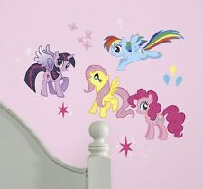 New MY LITTLE PONY WALL DECALS Rainbow Dash Fluttershy Stickers Girls Room Decor