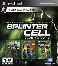 Tom Clancy's Splinter Cell: Trilogy - Playstation 3 Game