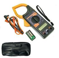 1000 AMP DIGITAL CLAMP METER MULTIMETER VOLTAGE TESTER WITH LEATHER CARRY CASE