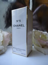 CHANEL No5 BODY LOTION 200ml RARE HIGHLY SCENTED EARLIER FORMULA MINT SEALED BOX