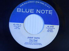 Jimmy Smith (inst.) 45 CAN HEAT / MATHILDA ~ Blue Note VG+ jazz