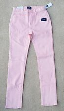 GAP Girls Peach 96% Cotton High Waist Skinny Jeans Trousers 12 Years