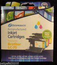 Dataproducts  Remanufactured  Inkjet  Cartridges Replaces Brother LC-75