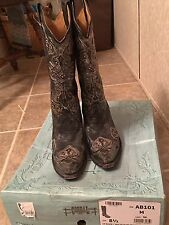womens used corral boots size 8.5