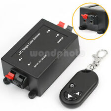 Led Light Dimmer Switch Adjustable Brightness Wireless RF Remote Controller New