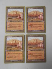 Magic MTG Cards 4x Dust Bowl x4 World Championship Gold Border