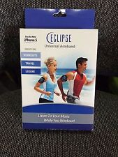 """Eclipse Universal Workout Armband for 4"""" smartphones including Iphone 5 and 5s"""