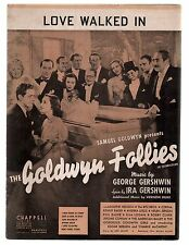 Love Walked In 1938 Goldwyn Follies