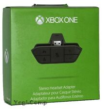Microsoft Xbox ONE Stereo Headset Adapter NEW + FREE SHIP