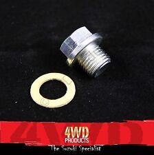 Sump Plug/Washer SET - Suzuki Sierra Drover 1.3 (84-98) Vitara & X90 1.6 (88-97)