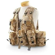 "British Desert DPM Camo Tactical Vest General Purpose Ops Vest Size 38-44"" Chest"