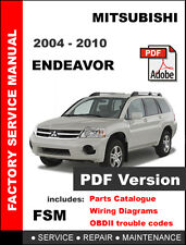 MITSUBISHI ENDEAVOR 2004 - 2010 FACTORY OEM SERVICE REPAIR WORKSHOP FSM MANUAL