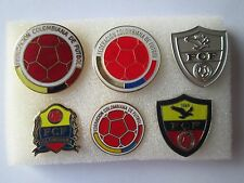 b1 lotto 6 spille COLOMBIA football federation association team pins lot