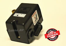Heavy Duty Pressure Switch for Air Compressor 25 Amp 95-125 PSI 1 Port