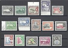 BRITISH GUIANA 1954-63 331/45 MNH Cat £110