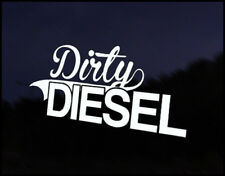 Dirty Diesel Car Decal Sticker JDM Vehicle Bike Bumper Graphic Funny